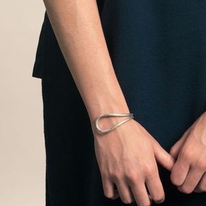 Connect Bracelet Sterling Silver Cuff by Minoux